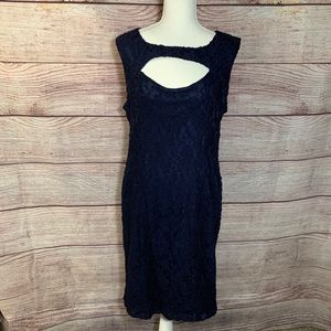 Torrid Navy Lace Dress